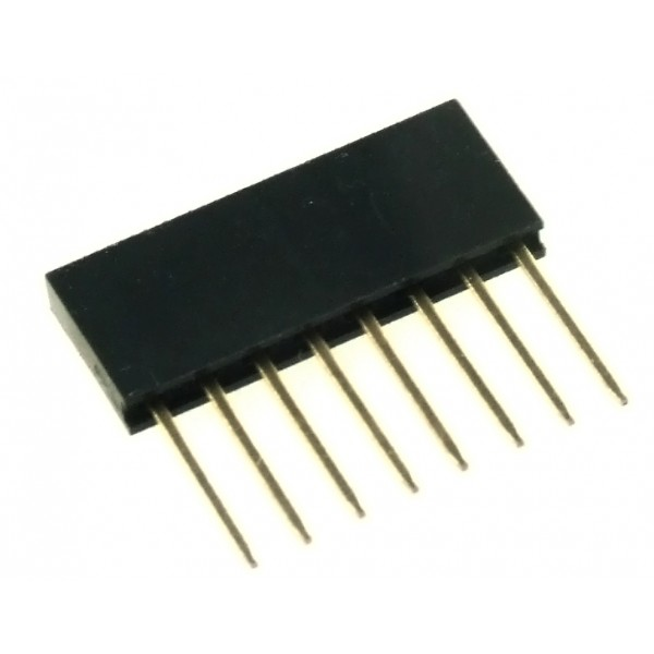 Lišta male/female 8 pin (Arduino)