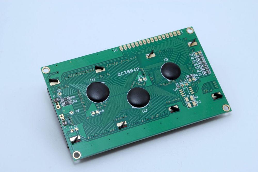 LCD displej 20x4 pro Arduino - žlutý