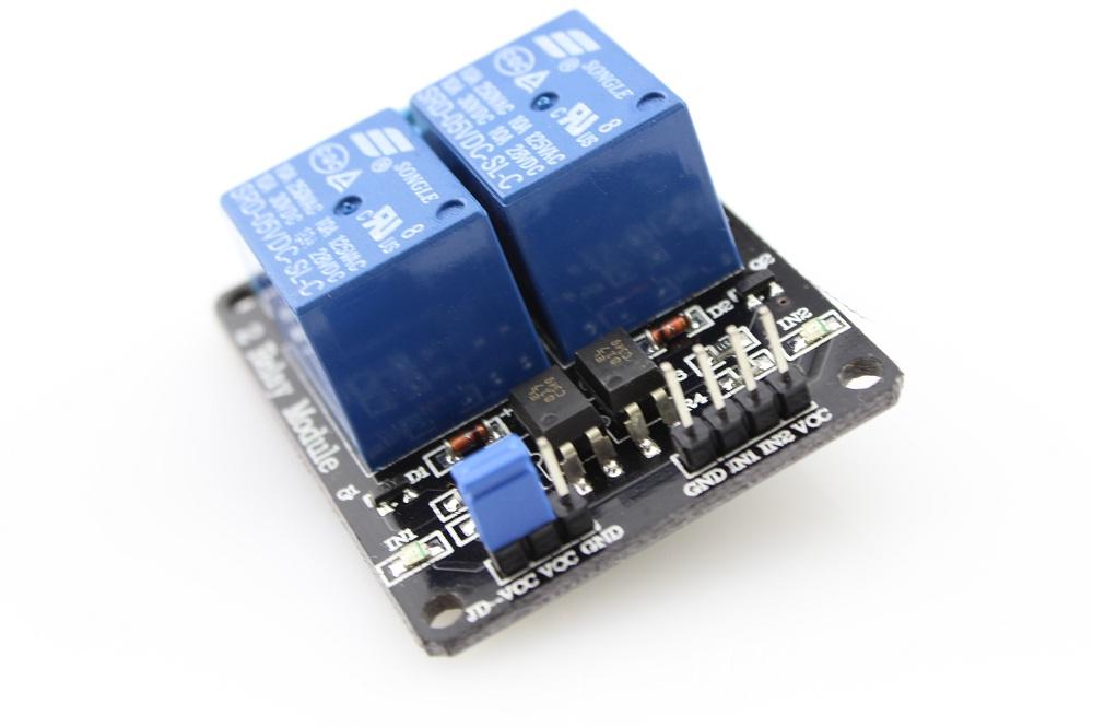 2x Relé modul 5V pro Arduino