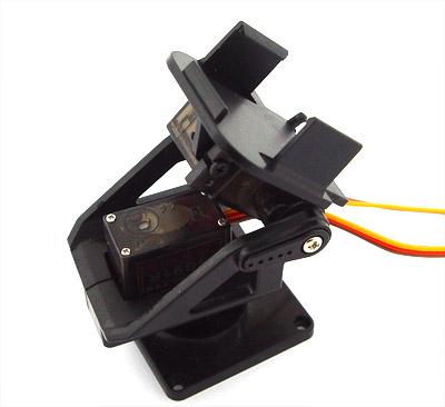 Plastový držák pro servo a kameru - 2 osy