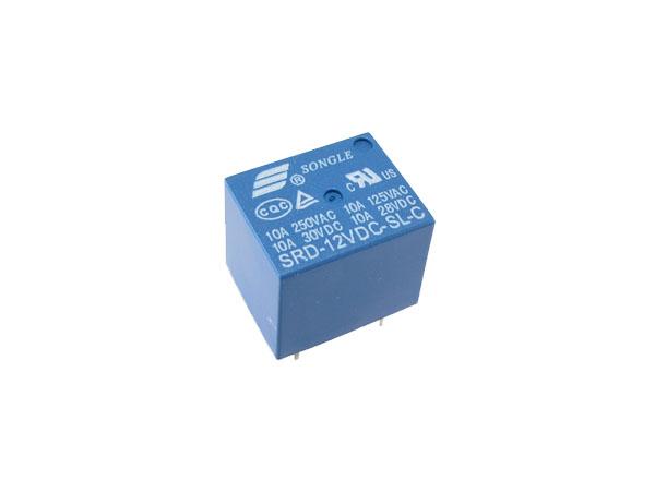 Relé 12V / 220V - samostatné