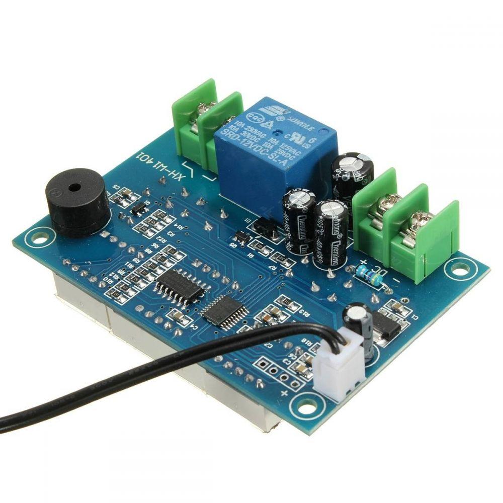 Digitální termostat s LED displeji a čidlem W1401