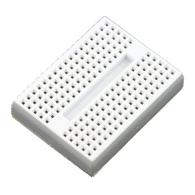 Arduino MEGA prototype Shield + mini BreadBoard