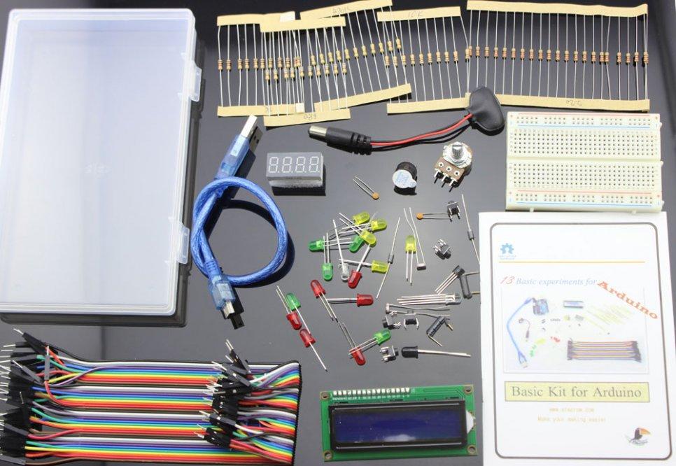 Arduino sada pro začátečníky (+ příklady)