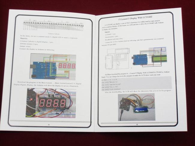 Arduino sada pro začátečníky včetně UNO R3 (+ příklady)