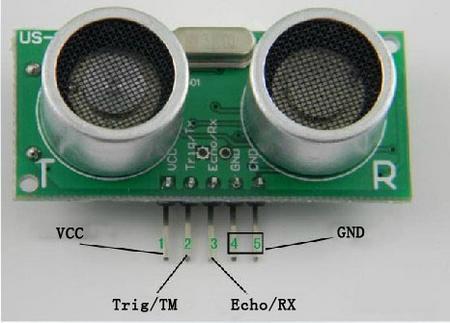 Ultrazvukové čidlo US-100