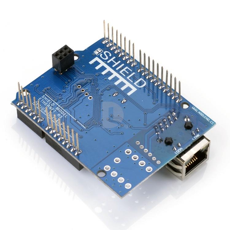Ethernet shield W5100 R3 - nová verze