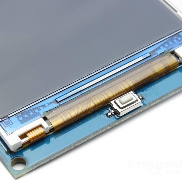 LCD displej 3.2 palce 480x320, s SD slotem
