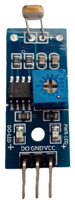 Světelný senzor - detekce světelných podmínek. Digital výstup.