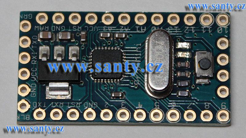 Sanduino Mini Pro 168 16MHz 5V (klon)