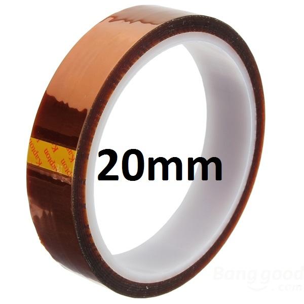 Kaptonová páska KAPTON TAPE - 20mm x 33m