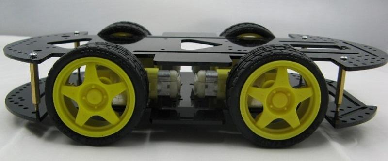Podvozek pro chytrého robota (DORADO)
