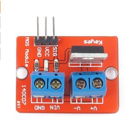 MOSFET Driver Řadič 24V 5A (IRF520)