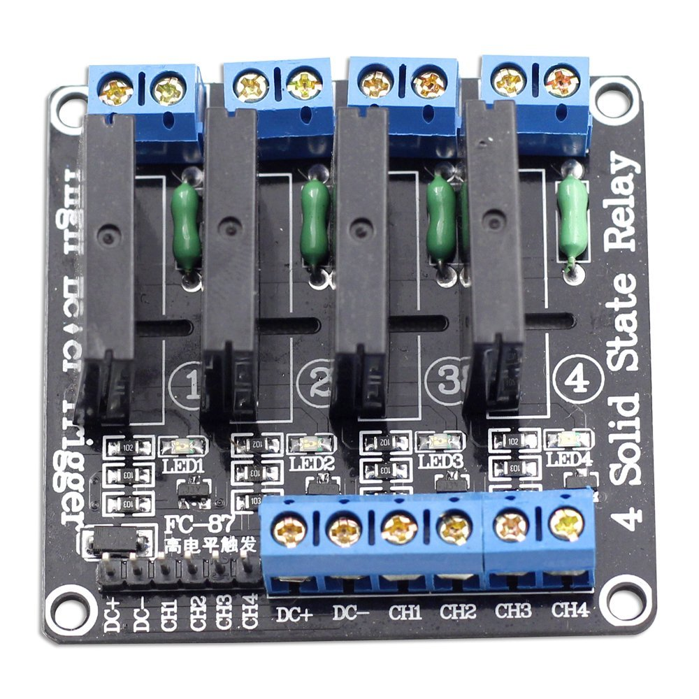 4X Solid State Relay Module (2A)