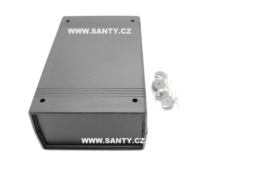 Krabička S605 (90x142x50mm) černá