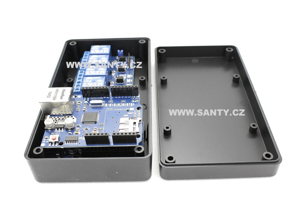 Krabička S609 (84x153x42mm) černá