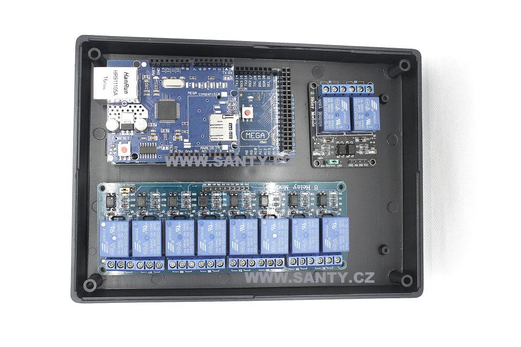 Krabička S603 (190x138x45mm) černá