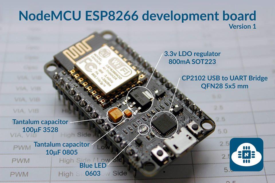 NodeMcu Lua WI-FI ESP8266