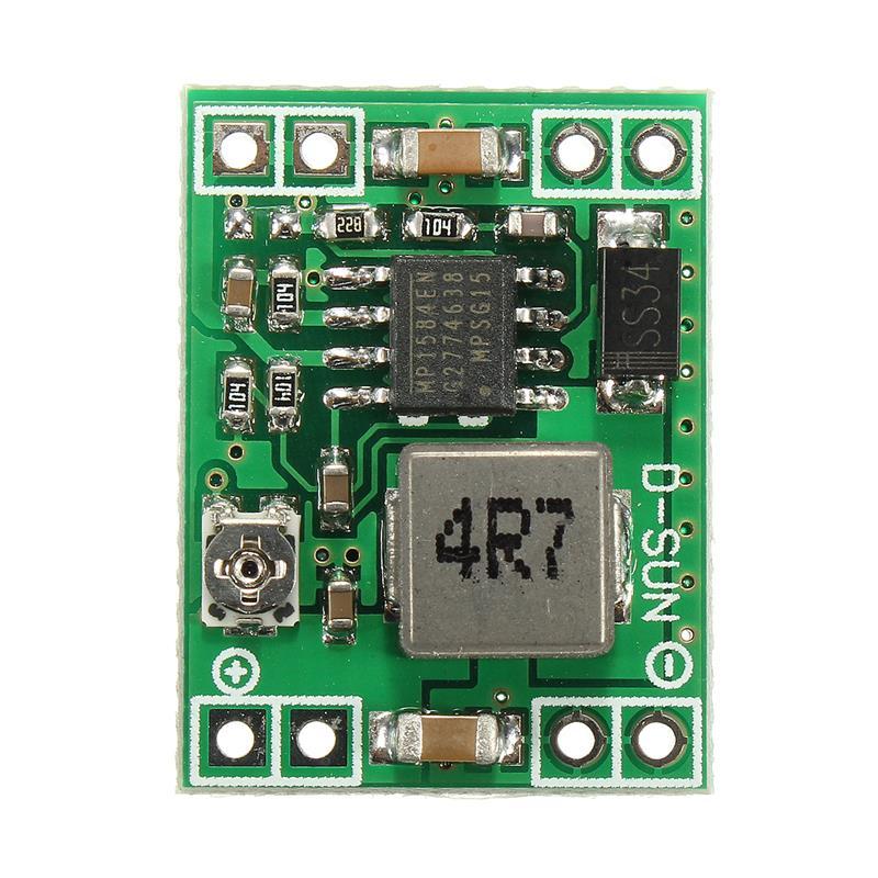 Omezovač napětí 4,5-28V na 0,8 -020V (Step down) MP1584EN