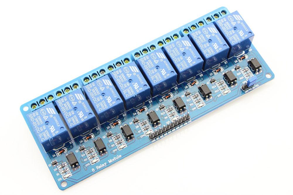 8x Relé modul 5V pro Arduino