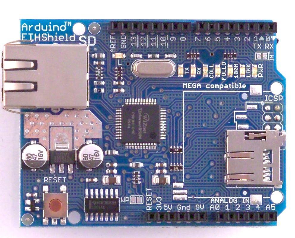 Ethernet shield W5100 pro Arduino