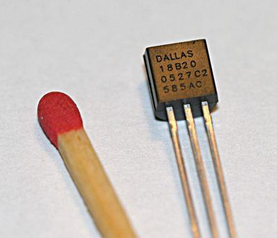 Digitální čidlo teploty DS18B20