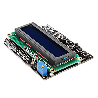LCD modul 16x2 pro Arduino