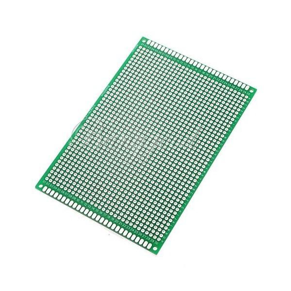 PCB deska 120x80mm vrtané otvory 1mm Oboustranná