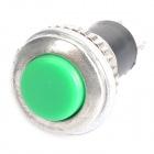 Tlačítko bez aretace, zelené.