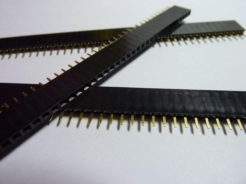 Pin lišta 1x40 pinů - samice
