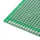 PCB deska 20x80mm vrtané otvory 1mm Oboustranná