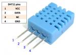 Senzor teploty a vlhkosti vzduchu DHT-11