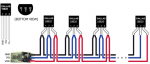 DS18B20 vodotěsné + 1m kabel (PŘESNOST 1°C)