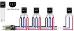 Digitální čidlo teploty DS18B20 vodotěsné + 1m kabel