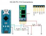 Bluetooth modul (6 pinů) MASTER/SLAVE