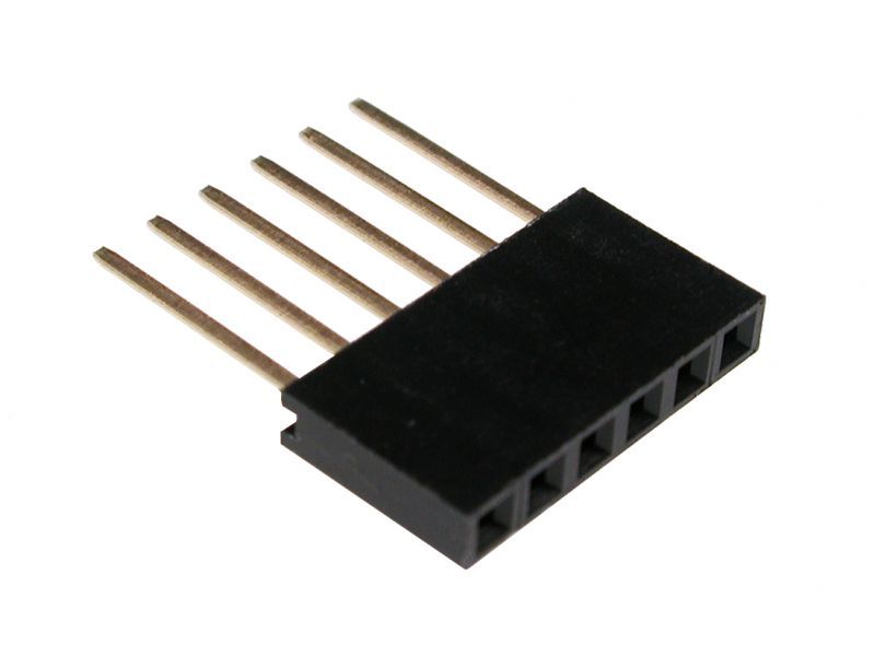Lišta male/female 6 pin (Arduino)