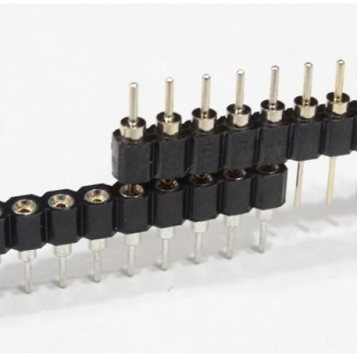 Pin lišta 1x40 pinů - samice-crystal