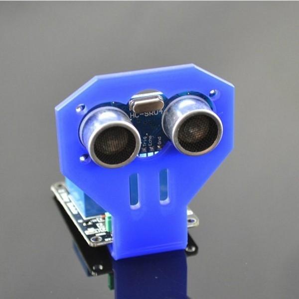 Držák ultrazvukového senzoru (HC-SR04) Modrý.