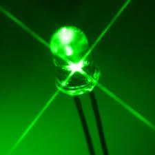 LED dioda 5mm - zelená