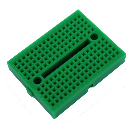 Mini BreadBoard (170 pinů) ZELENÁ