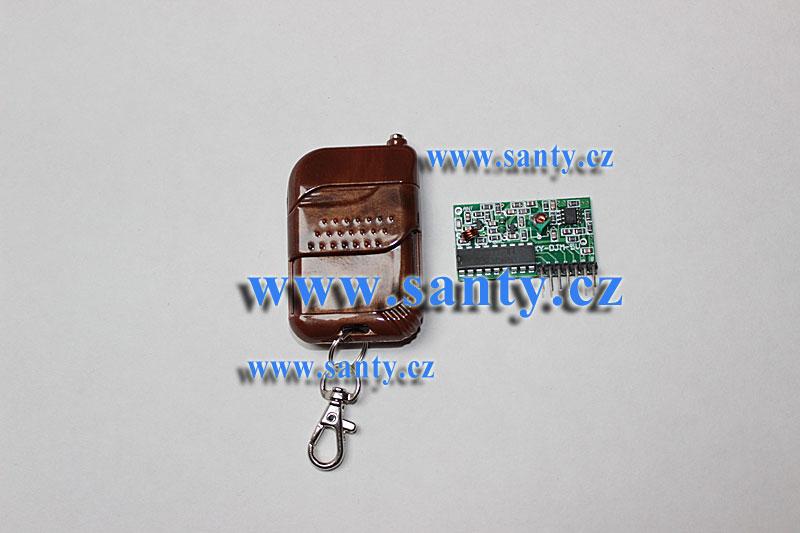 Dálkový ovladač, 4 kanály s modulem pro Arduino