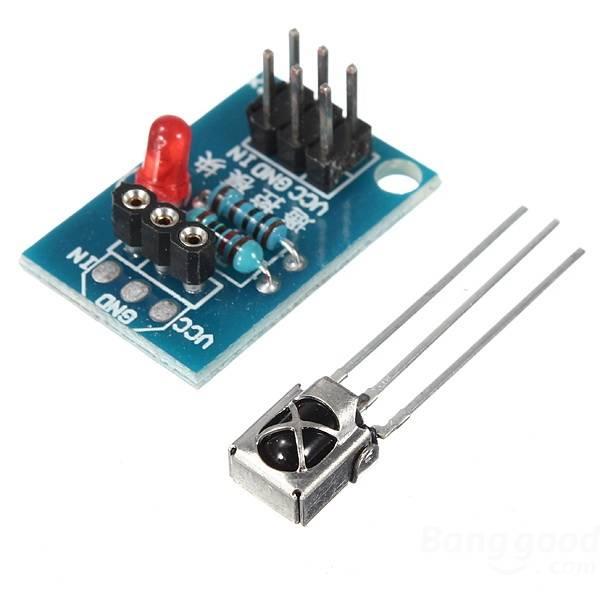 Infra dálkový ovladač a přijímač + baterie