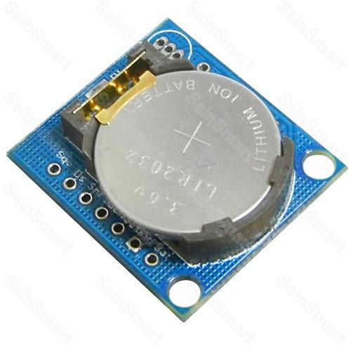 Modul reálného data a času se záložní baterií (DS1307)