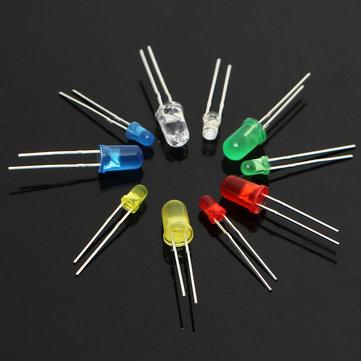 Sada LED diod - 375ks (5mm + 3mm) v krabičce