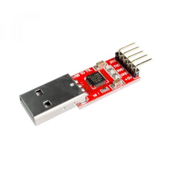 Převodník úrovní USB na TTL (UART) 5v 3.3v - 5pin