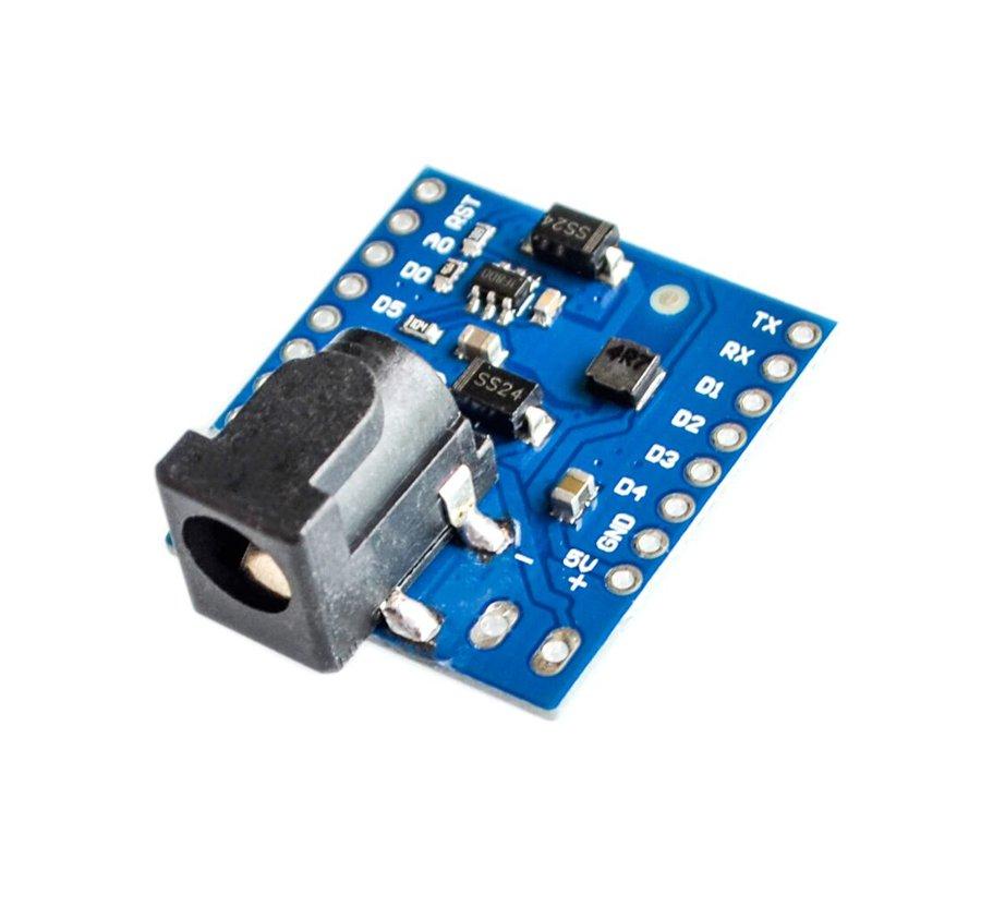 Mini DC power shield pro WeMos D1