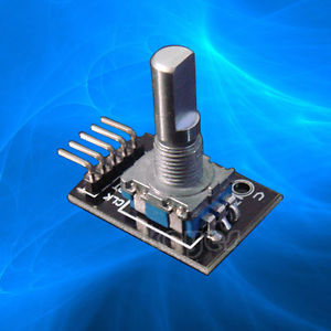 Rotační encoder s tlačítkem (modul KY-040)