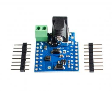 Mini DC power shield pro WeMos D1